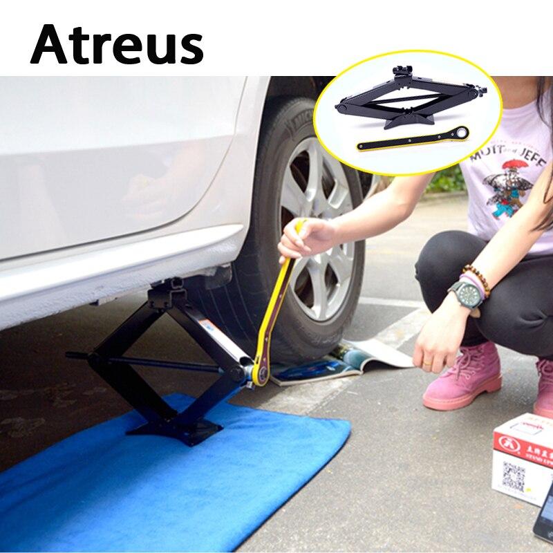 Atreus 3 Tons Car styling Wind Up Lift Crank Speed Handle Emergency for Lexus Honda Civic Opel astra h j Mazda 3 6 Kia Rio Volvo oem idle speed air control iac valve 36450 p08 004 for 92 95 honda civic 1 5l l4