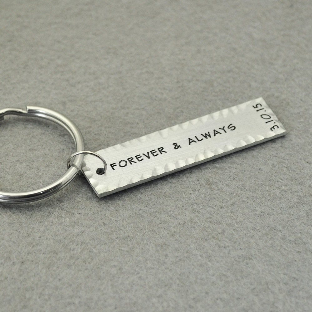 US $4 99 |Personalized Keychains, Custom Key Rings, Rectangle Engraved Key  Rings, Boyfriend Keychain, Husband Gift, Valentines Gift-in Key Chains from