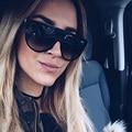 Royal girl 2017 mujeres diseñador de la marca gafas de sol de acetato vintage lente sombra fina sombra gafas hombres ss050