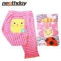 5 pcs/lot 2016 New Cartoon Busha Pants Baby Cotton Embroider Pants Baby Trousers Kid Wear Baby Fashion Models 15-199