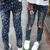 Vestuário infantil 2017 primavera e no outono 3-14year moda estilo Jeans menina, calças crianças
