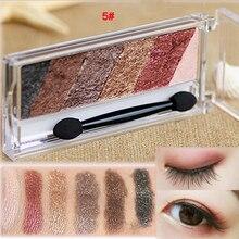 6 Color Shimmer Matte Natural EyeShadow Palette Naked Nude Eyelid Waterproof Makeup