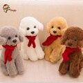 30 cm Bufanda Táctica perro caniche de juguete de felpa muñeca del perro de simulación de gama alta De Regalo de Los Niños Juguetes de Los Niños el envío libre 052