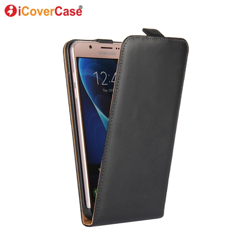 Galleria fotografica Coque for Samsung Galaxy J5 2016 Case Flip Cover Leather Wallet for Samsung J5 J3 2016 J7 2017 J1 J2 Case Funda Capa Etui Hoesje