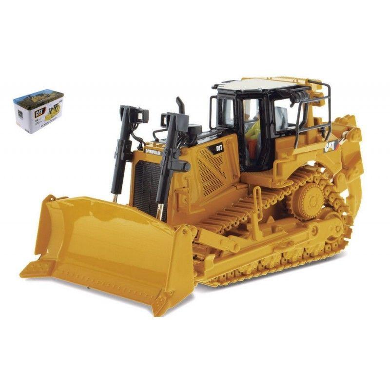 DM 1:50 chenille CAT D8T machines d'ingénierie Type de piste tracteur BullDozer moulé sous pression jouet modèle 85299 pour Collection, décoration