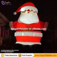 Led Lighting 26ft High Inflatable Christmas Santa Cartoon Giant Santa Decoration Toy