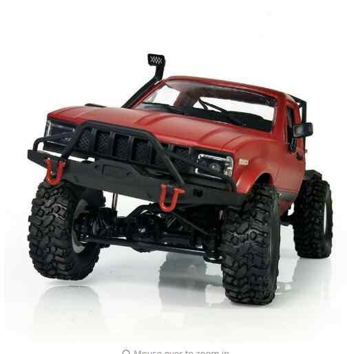 RC รถบรรทุก 2.4G 4WD SUV Drit Bike Buggy รถกระบะรีโมทคอนโทรลยานพาหนะ Off - Road Rock Crawler อิเล็กทรอนิกส์ของเล่นเด็กของขวัญ