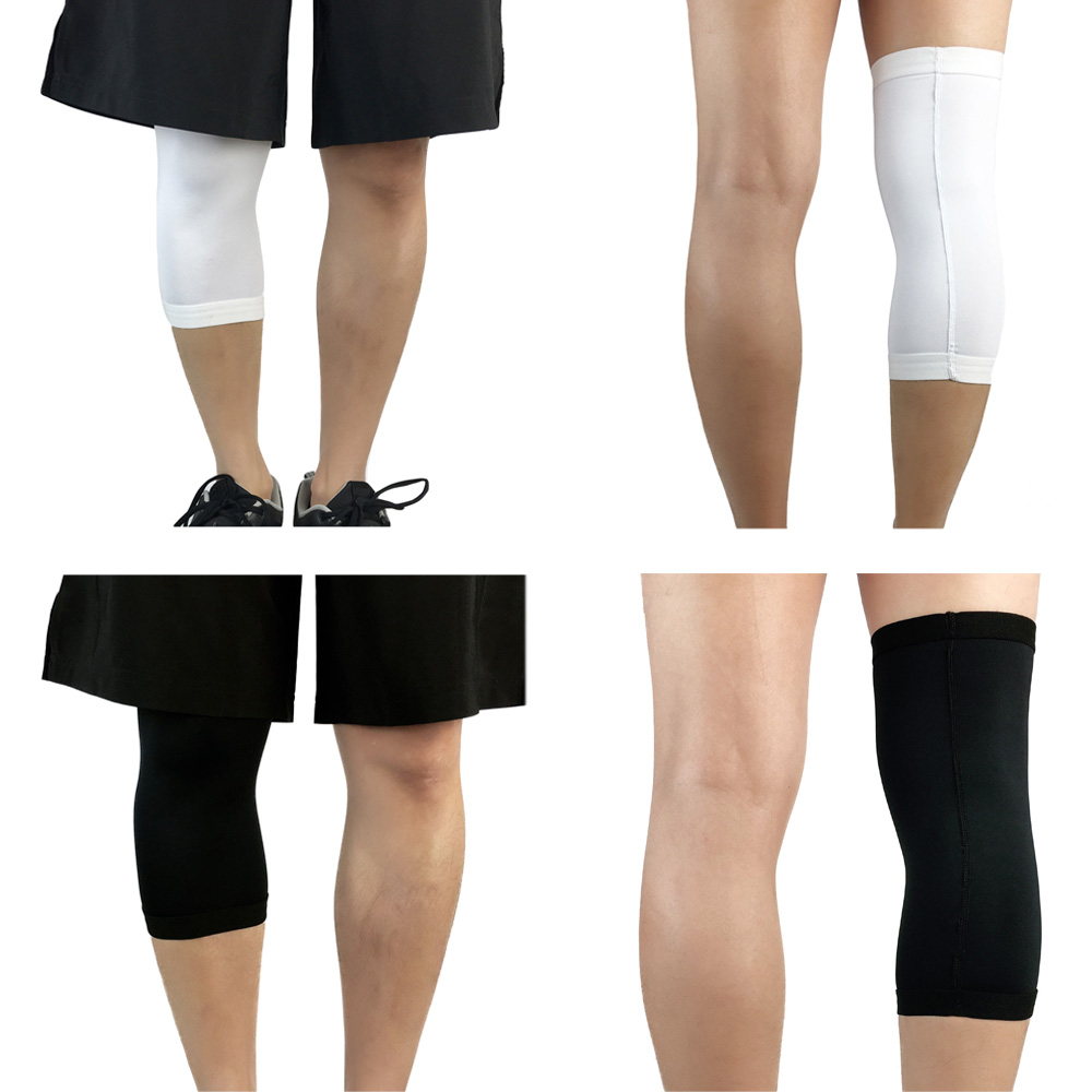 Sports Safety Knee Pads Training Knee Brace Compression Sleeve 1 Piece Solid SPSLF0055