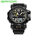 2016 New SANDA Men's Watch Men Waterproof Sports Digital Watches S-Shock Men's Analog Quartz-Watches Reloj Hombre  Relogio