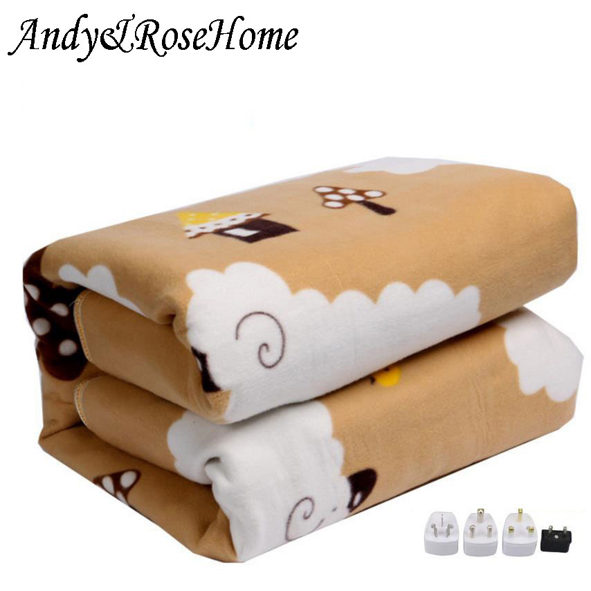 110V-220V Security Plush Electric Blanket Bed Thermostat Electric Mattress Soft Electric Heating Blanket Warmer Heater Carpet
