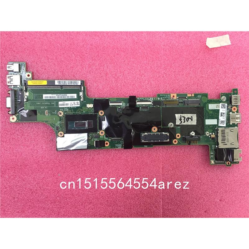 D'origine Ordinateur Portable Lenovo THINKPAD X250 Carte Mère Carte Mère GAGNER i5 i5-5300 AMT TPM 00HT385