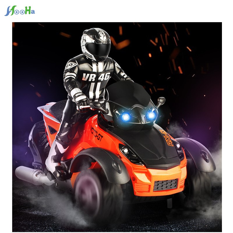 все цены на The New Hot Remote Beach Motorcycle Light Inverted Tricycle Drift Charging Electric Toys Wholesale онлайн