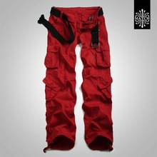 Pants Multi-Pocket Trousers Women