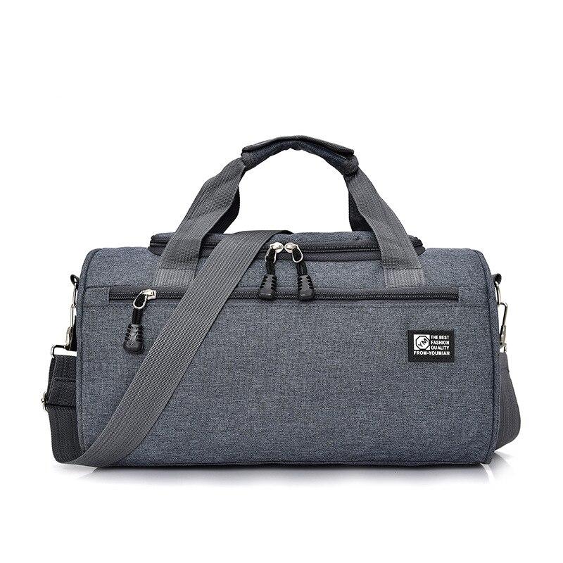 Scione мужские дорожные спортивная сумка легкая багажная деловая женская уличная спортивные сумки плечо Наплечная Сумка - Цвет: Gray