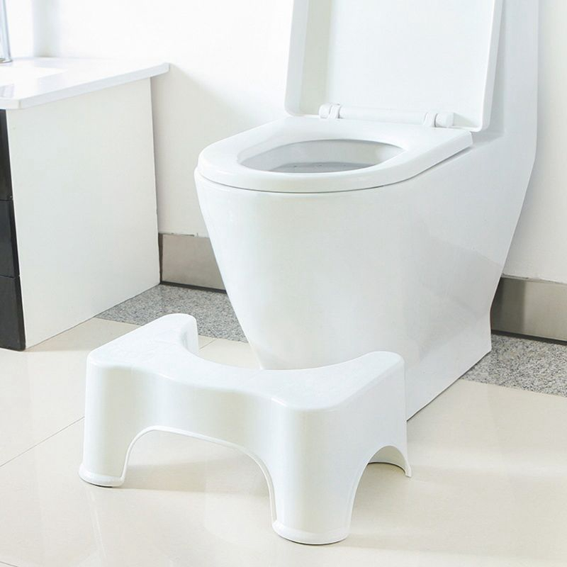 U-Shaped Squat Toilet Stool Anti-Slip Mat Bathroom Assistant Assistant Foot Pad To Constipation Pile