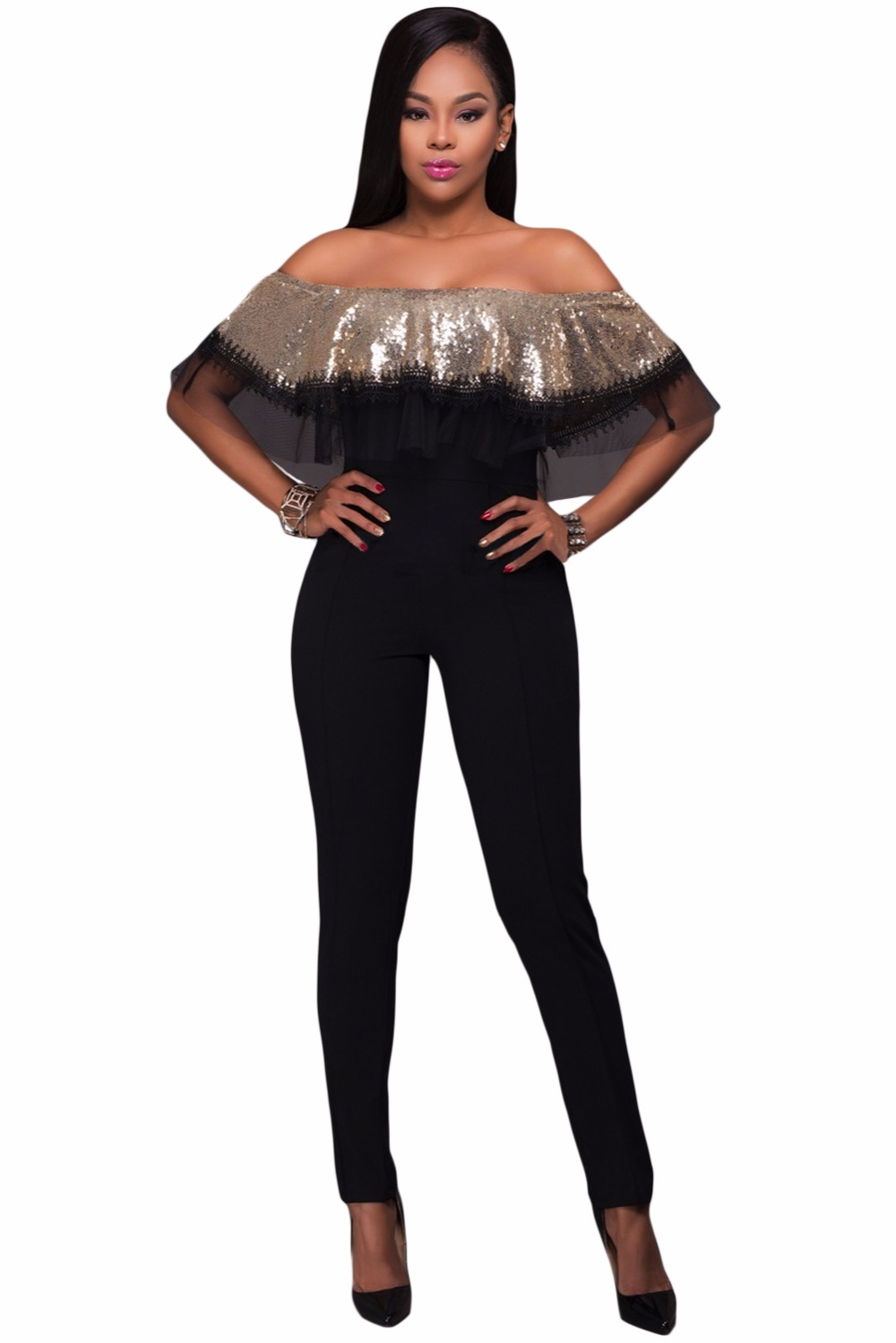 Gold-Sequin-Ruffle-Top-Jumpsuit-LC64249-12-1