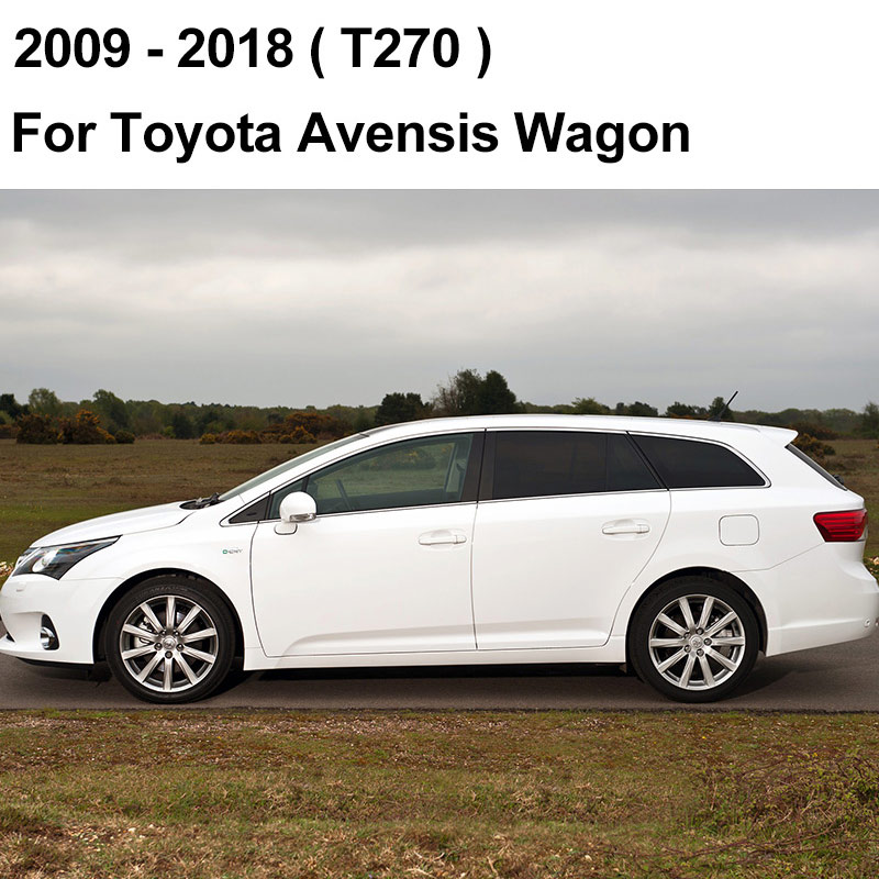 REFRESH Щетки стеклоочистителя для Toyota Avensis T250 / T270 / Verso Mk2 Mk3 Подходит для крепления крюка / кнопочных ручек Долговечная резина - Цвет: 2009 - 2018 (Wagon)