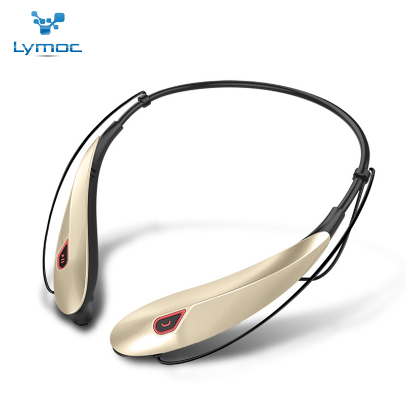 Lymoc Y98 Neckband Stereo Bluetooth Headset Wireless Mobile Music V4.1 Sport Earphone Ph ...