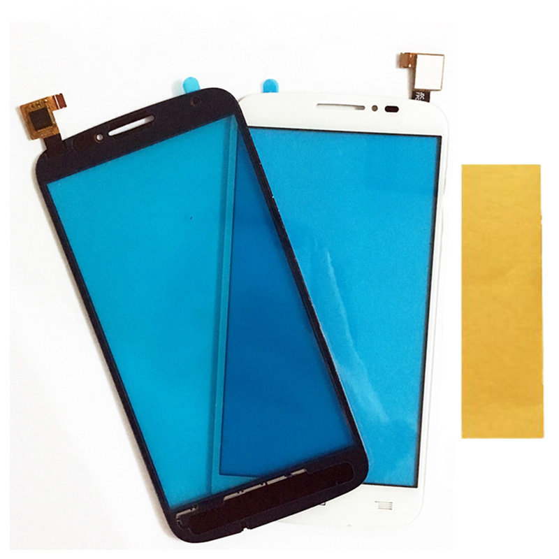 Touchscreen Digitizer For Alcatel One Touch C7 7041 OT-7041D 7041X OT7040D 7040E 7041D Touch Screen Sensor Panel Lens +Tape