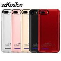 5500/7500 mAh Battery Case Cho iPhone 6 6 s 7 Cộng Với Pin Sạc Hợp Cho Trường Hợp Sạc iPhone Powerbank Điện Thoại di động Trường Hợp