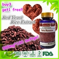 (Buy 3 Get 1 Free) 500 mg * 100 Softgel Red Yeast Rice Extract Powder with 10% ingredient of Monacolin K, LOWER CHOLESTEROL