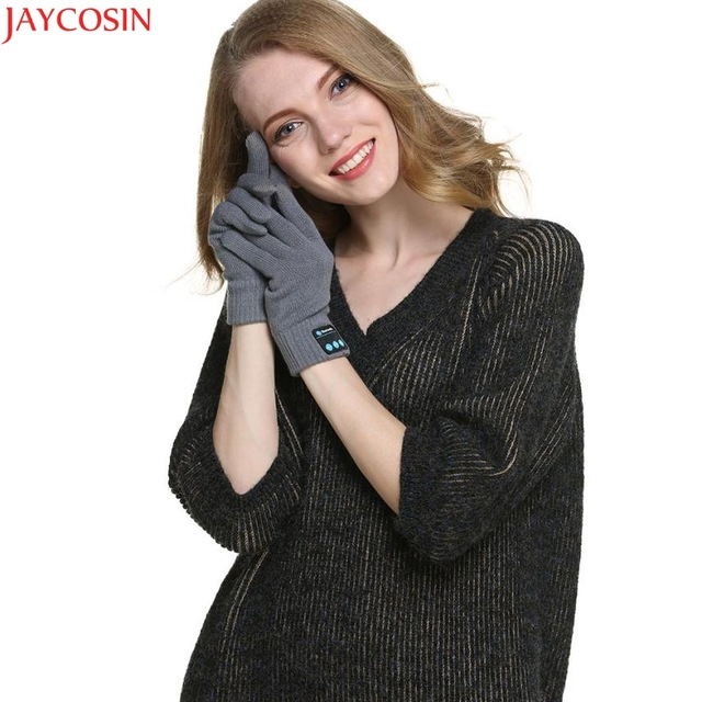 Jaycosin mittens christmas Bluetooth Gloves for Winter Knit Warm Mittens gloves womenx27s Dec21