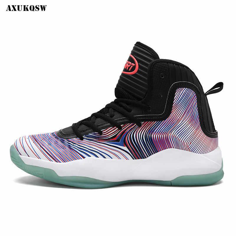 حذاء كرة السلة الرجال الاحذية الرياضية عالية قمم رجل كرة السلة رياضية القوى سلة أحذية Chaussures دي سلة حذاء أسود