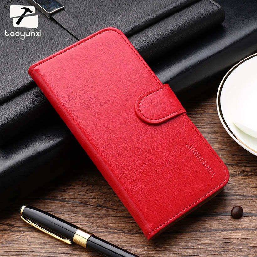 TAOYUNXI Flip PU Leather Phone Cases For Fly IQ4503 quad Era Life 6 IQ 4503 life6 5.0 inch Covers Phone Case Bag Card Holder