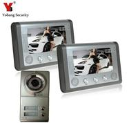 Free Shipping By DHLMulti Apartment Video Door Phone Door Intercom With High Definition Camera With 2