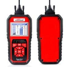 Универсальный OBD2 Автосканер konnwei KW850 диагностики автомобиля в российской испанский автомобильной escaner португальский лучше AL519 автомобиля-детектор