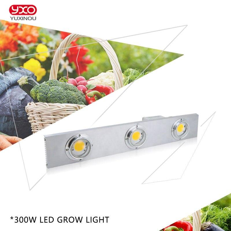 Pode ser escurecido CREE CXB3590 Cidadão COB 300 W LEVOU Crescer Espectro Completo de Luz CONDUZIU a Lâmpada de Crescimento de Plantas de Interior Iluminação de Crescimento