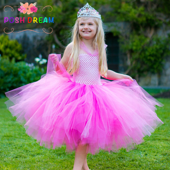 7ee9928cf1 Halloween Girls Dresses Cosplay Costume Perfectly Pink Princess Tutu Dress  Inspired By Aurora Pink Baby Girls Sc 1 St AliExpress.com