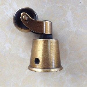 Image 3 - Freies verschiffen runde kupfer Tasse rollen, caster, regal rollen, caster/rad stuhl sofa möbel