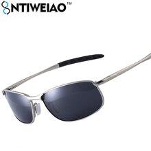 NTIWEIAO Marque UV400 Hommes lunettes de Soleil Polarisées homme soleil  lunettes Plein Jante En Alliage hommes lunettes de solei. 9f11392b076e