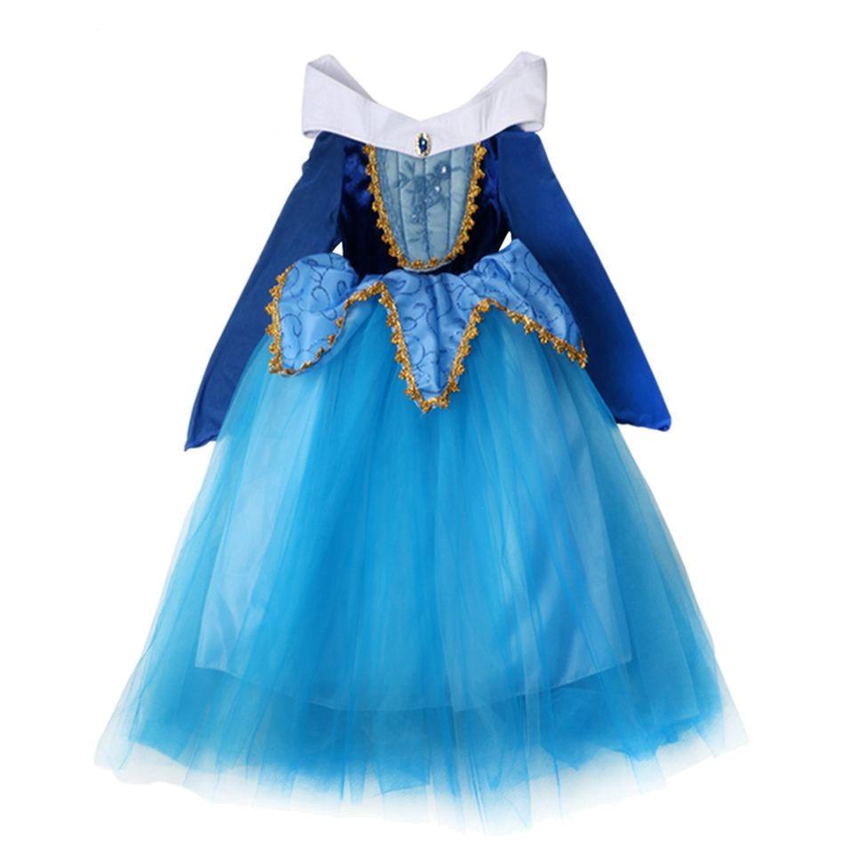 Blue Sleeping Beauty Cosplay Costume (1)