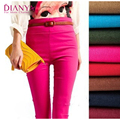 8 Color 2016 New Fashion High Waist Sexy Women Leggings Pencil Pants Candy Color Elastic Casual Slim Fitness Pencil Pants Girls