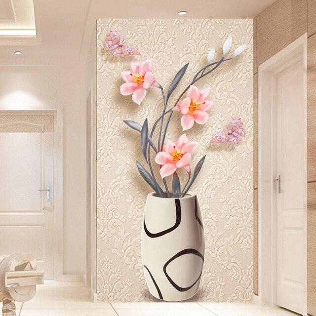 personnalis 3d papier peint papier peint moderne de mode. Black Bedroom Furniture Sets. Home Design Ideas