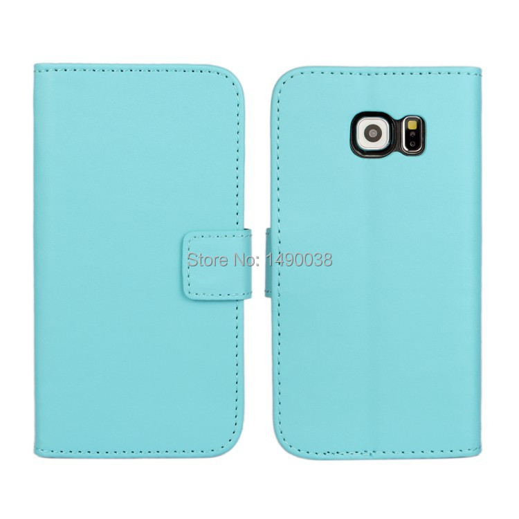 For Galaxy S6 Edge PU Leather Wallet Case Stand Cover Case For - Mobile Phone Accessories and Parts - Photo 2
