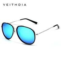 2017 New VEITHDIA Brand Designer Pilot Polarized Men Sunglasses Vintage Women Sun Glasses Eyewear oculos de sol masculino VT2725