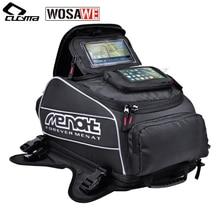 Menat магнит мотоциклы топливный бак сумки водонепроницаемый мотоциклетный шлем Сумка мото Мотокросс путешествия багаж телефон gps сумки