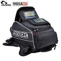 Menat Magnet Motorcycles Fuel Tank Bags Waterproof Motorcycle Helmet Bag Moto Motocross Travel Luggage Phone GPS Bags