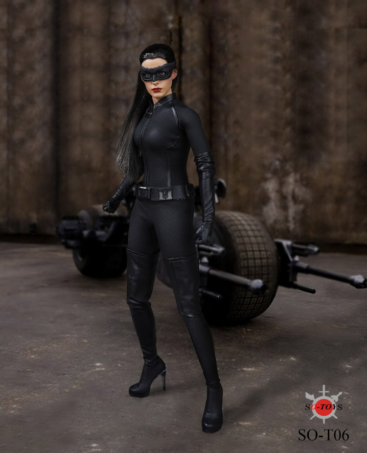 Catwoman the black cat - 3 10