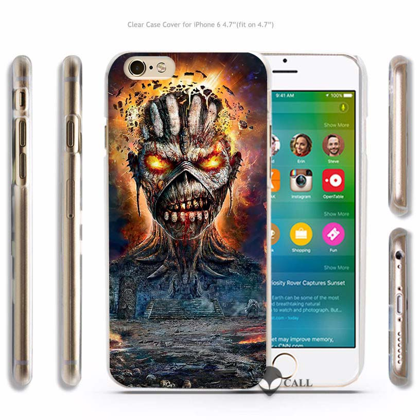 coque iphone 6 iron maiden