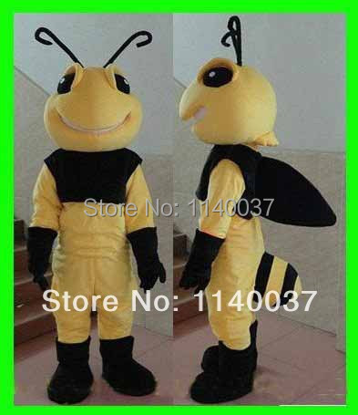 NO.1 MASCOT Professional Big Hornet Mascot Costume Adult Size Insect Cartoon Character Fancy Dress Stage Props Cosply Costume
