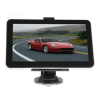 7 inch Car GPS Navigation 8G ROM Navigator Europe Maps with Sunshade High Sensitive GPS Receiver For Car Truck Top Sale