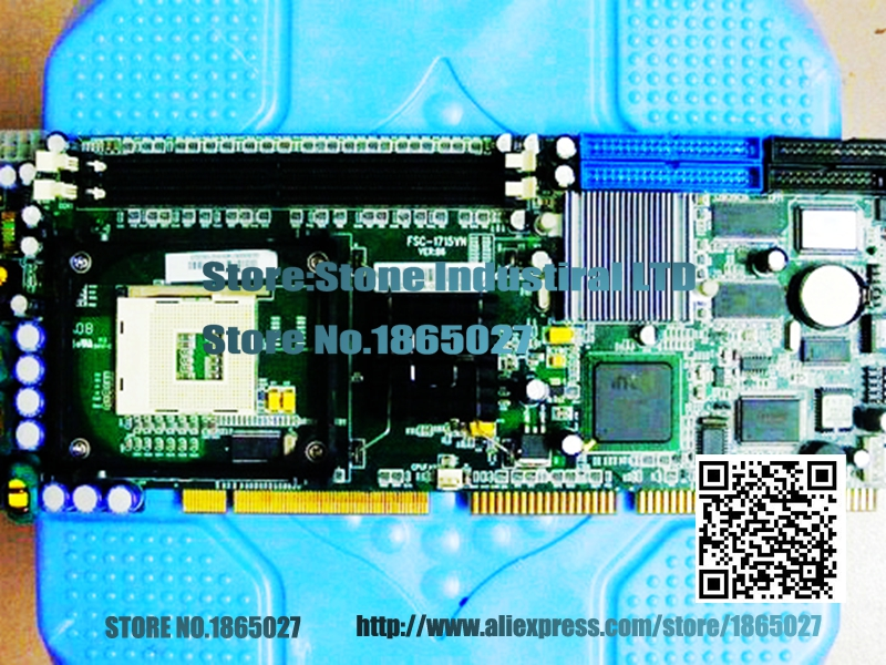 FSC-1715VN VER: B6 IPC board  P4 Industrial Motherboard 100% test good quality ibs 940 industrial motherboard with 945 chipset fully replace fsc 1814 100% test