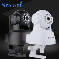Sricam SP012 Wireless IP Cam 720P Wifi Pan Tilt Surveillance Cameras P2P Baby Monitor Support SD
