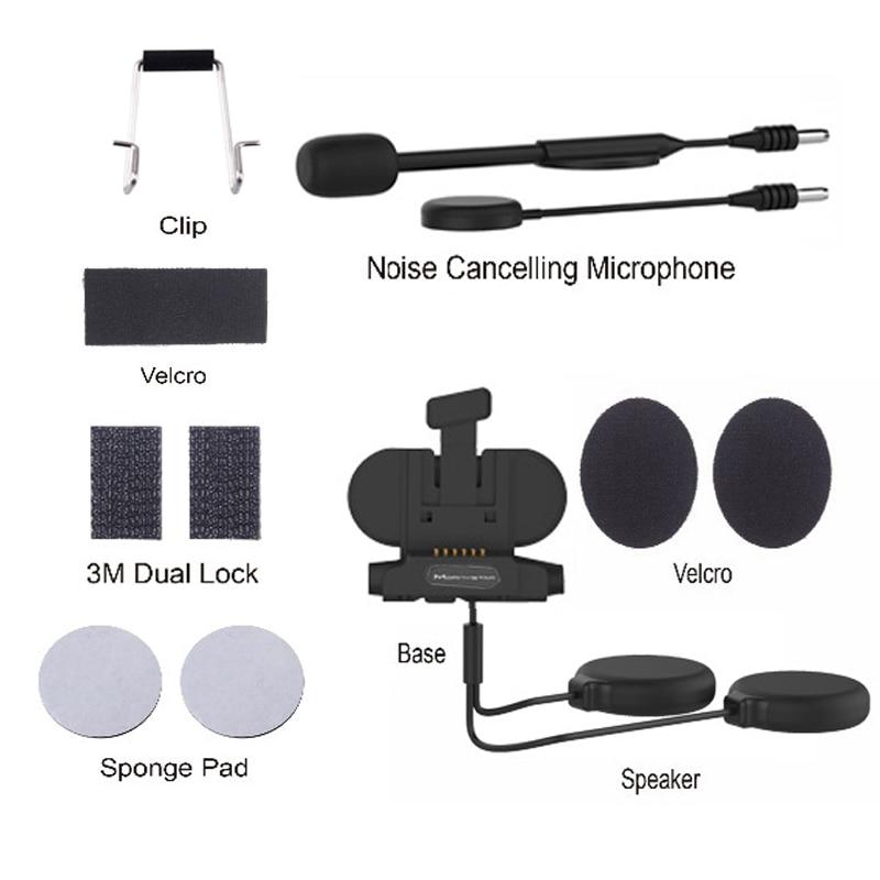 Audio & Mic Kit for MORNYSTAR M1 Pro Helmet Headset Base Microphone Accessories