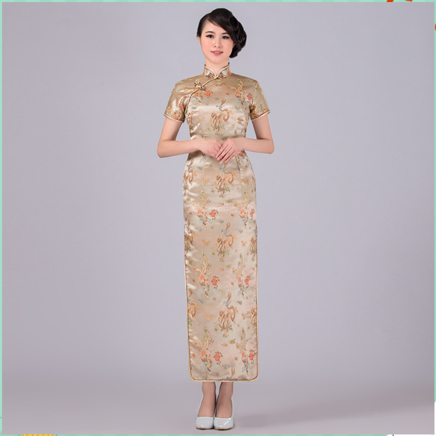 Gold Chinese Dresses – Fashion design images 9f8f624a76b3