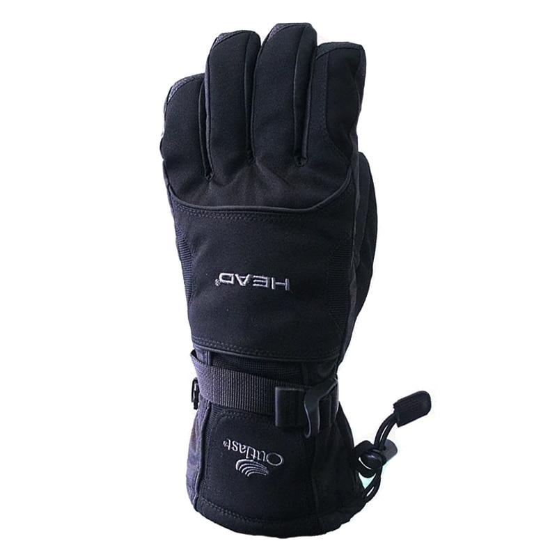 Winter Outdoor Sports Men Women Windproof Waterproof -30 Degree Warm Cycling Skiing Snowboard Gloves Motorcycle Ski Gloves
